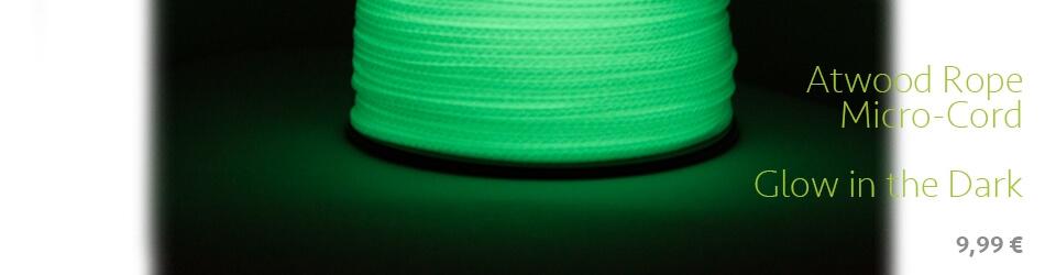 Atwood Micro-Cord Glow in the Dark