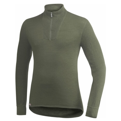 Woolpower Zip Turtleneck 200g oliv