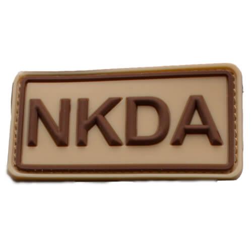 Rubberpatch NKDA Braun-Khaki