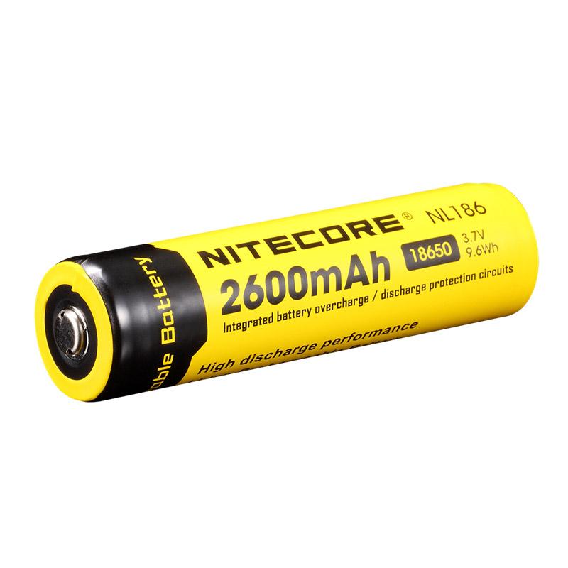 NiteCore Li-Ion-Akku Typ 18650, 2600mAh