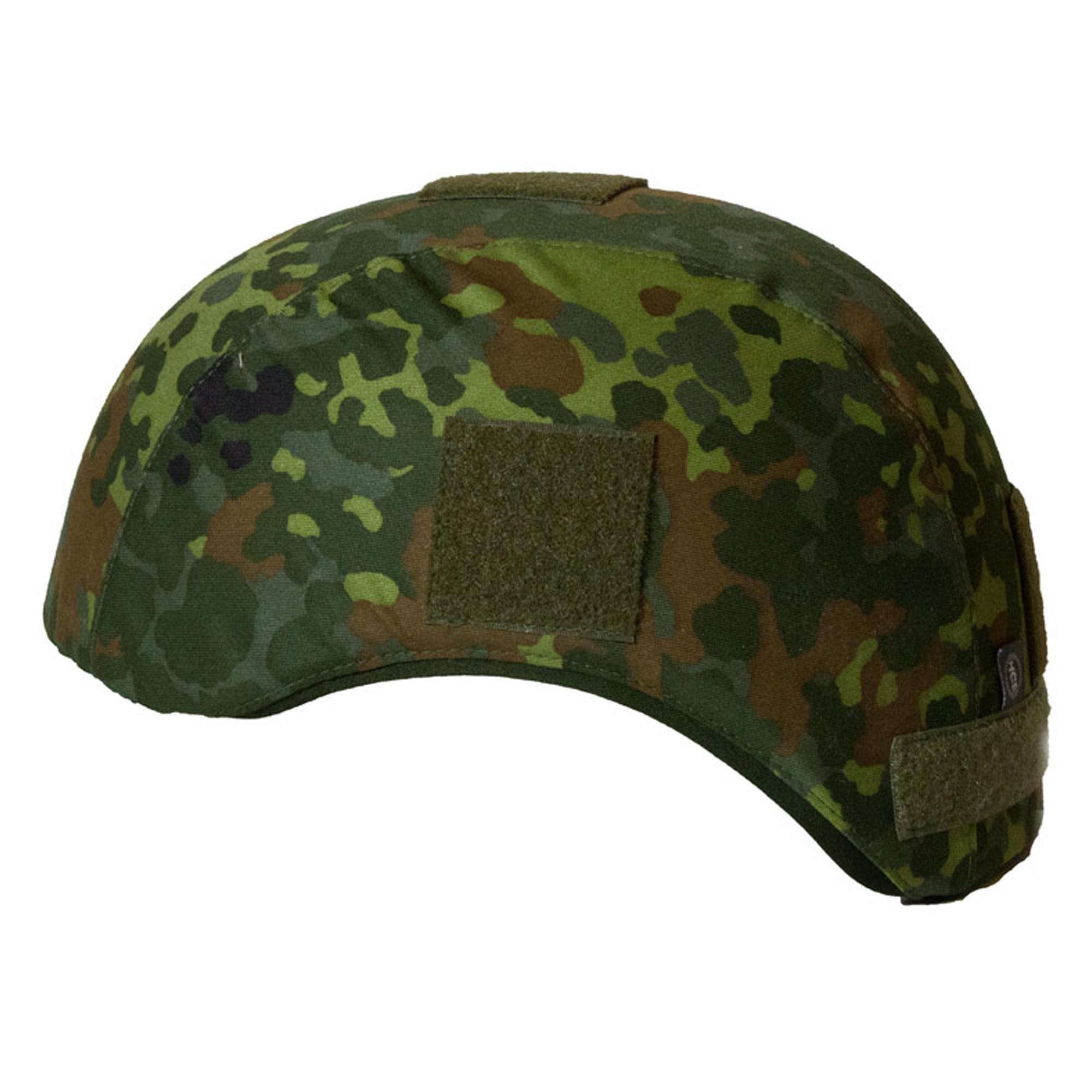 HCS Special Forces Helmbezug Flecktarn