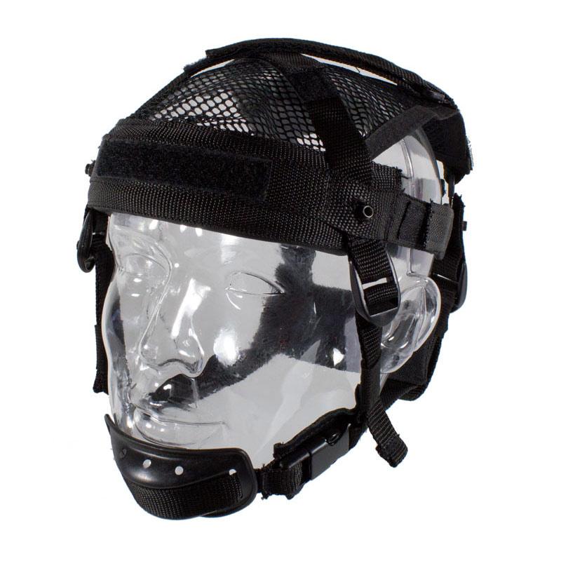 HCS Helmnetz für HCS Helme Schwarz
