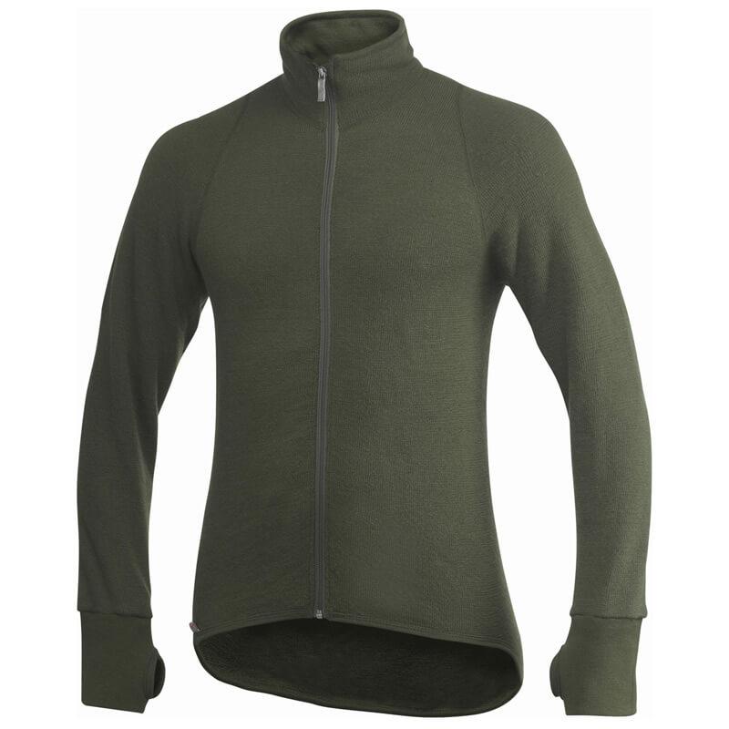 Woolpower Full ZIP Jacket 600g oliv