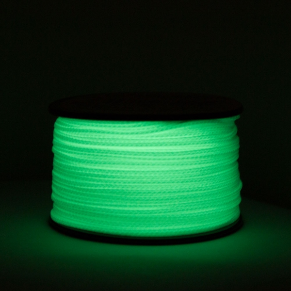 Atwood 1.18mm Nano Cord 38 Meter Rolle, Glow in the Dark