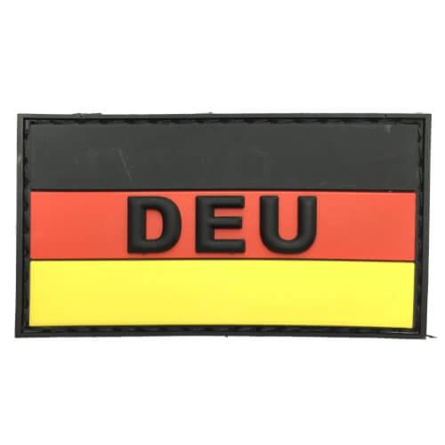 PVC Patch mit DEU Aufschrift