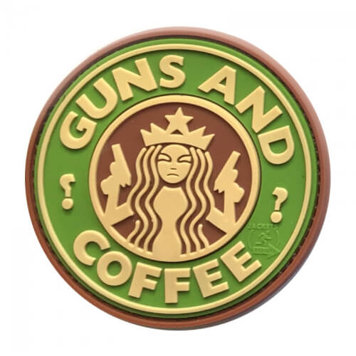 JTG Guns and Coffee PVC Patch