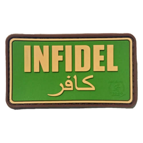 JTG Infidel PVC Patch multicam