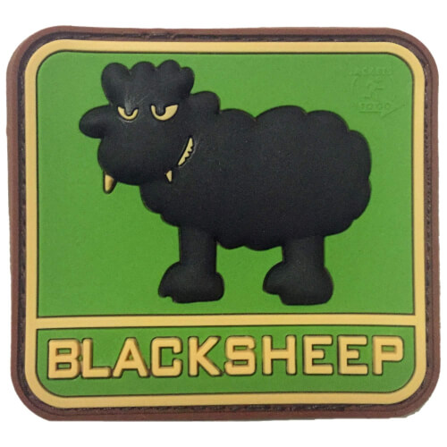 JTG BlackSheep PVC Patch multicam
