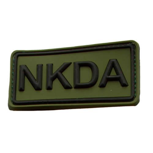 Rubberpatch NKDA Oliv-Schwarz