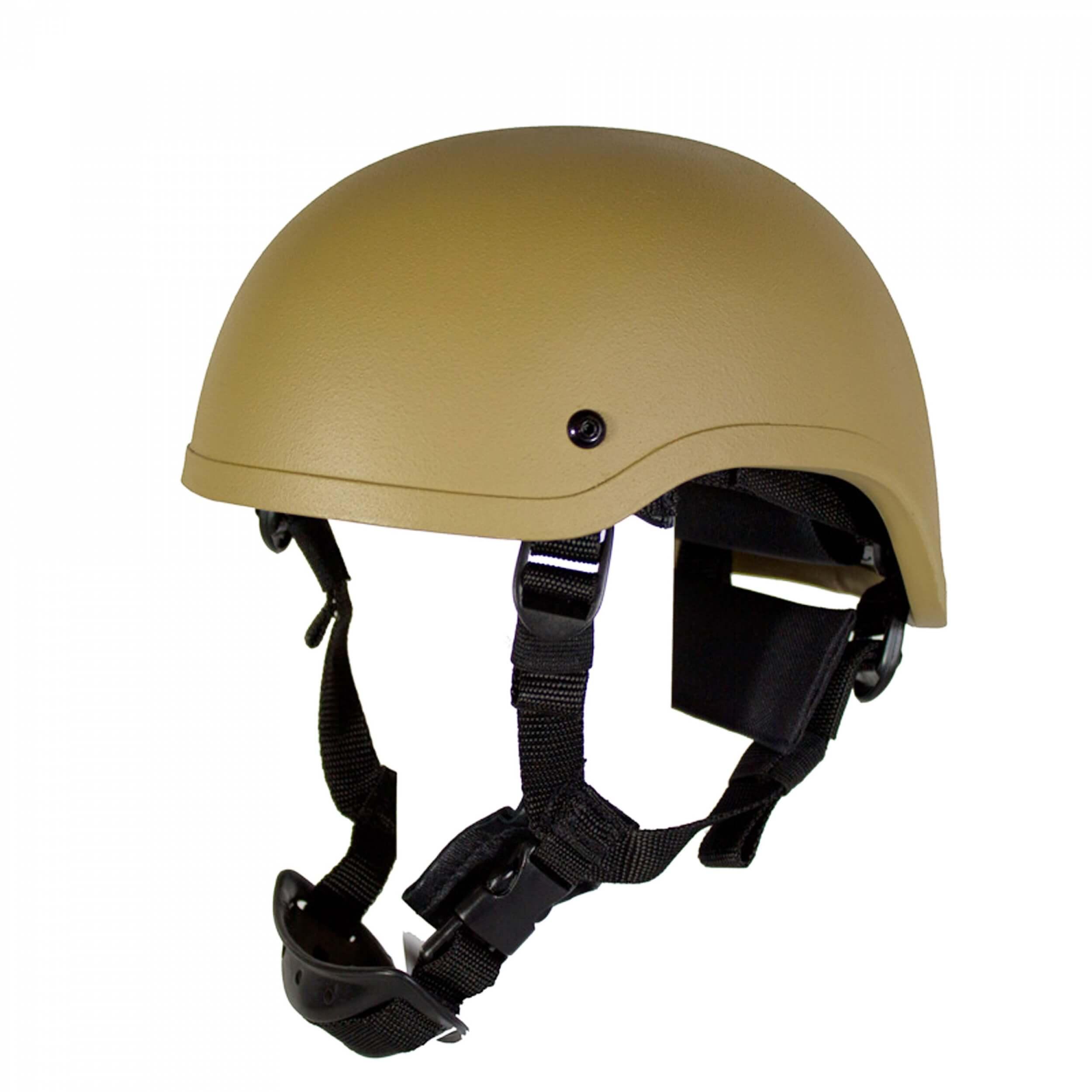 HCS Special Forces Helm mit Pads Khaki