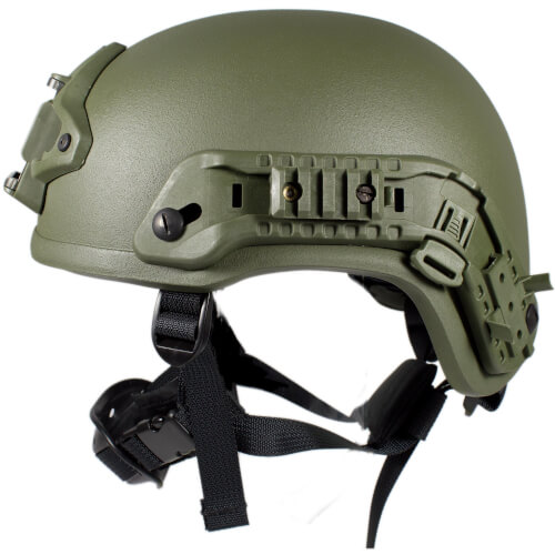 HCS Viper 3 Helm mit Rails NVG Mount und Pad oliv