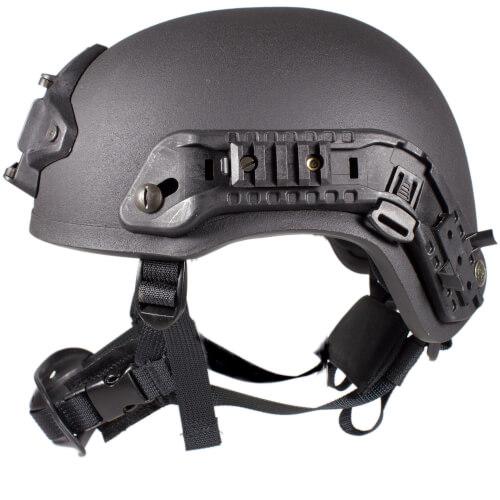 HCS Viper 3 Helm mit Rails NVG Mount und Pad F6 schwarz