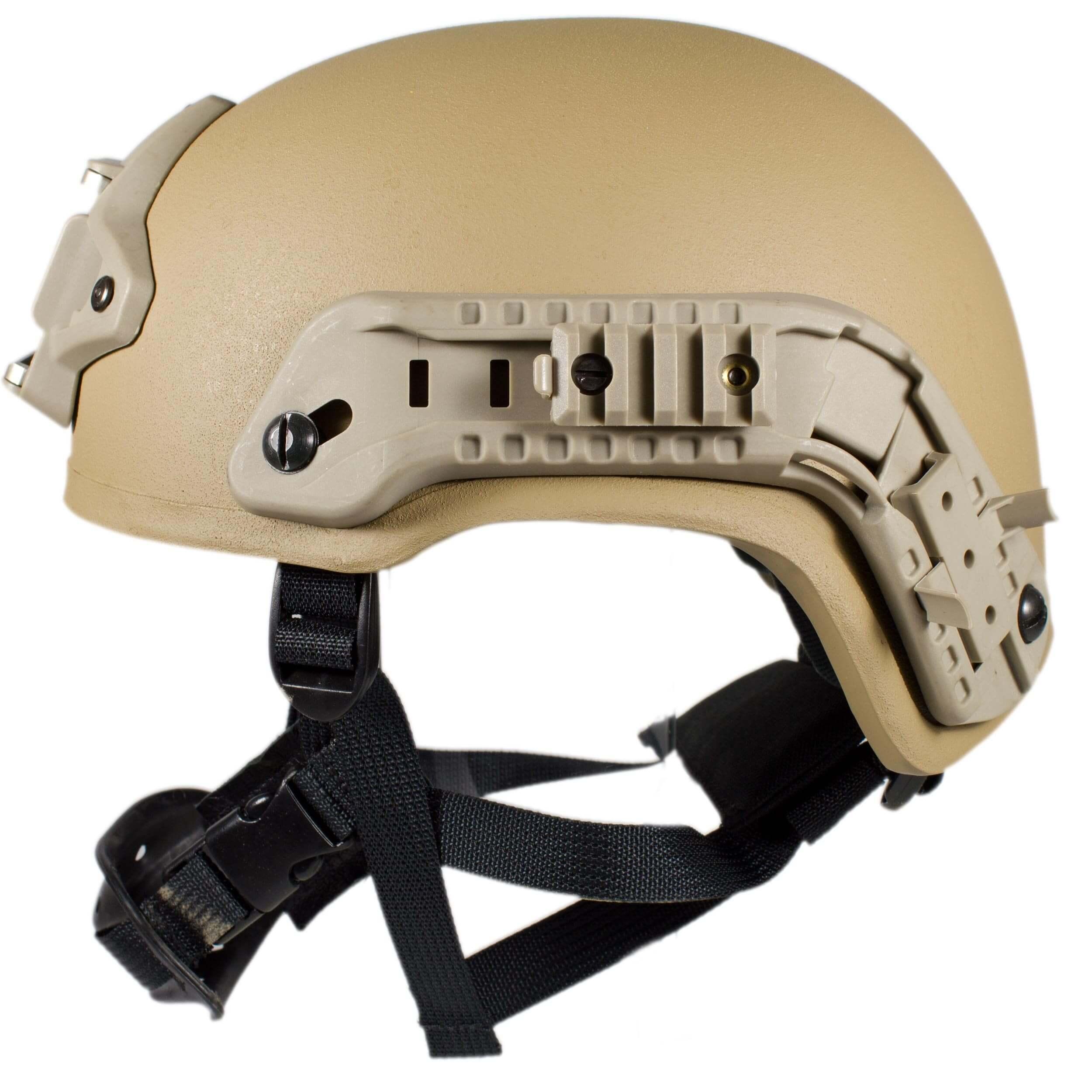 HCS Viper 3 Helm mit Rails NVG Mount und Pad coyote
