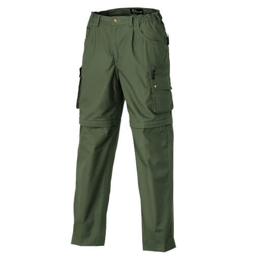 Pinewood Trousers Zip-Off Wildmark/Sahara Mid Green
