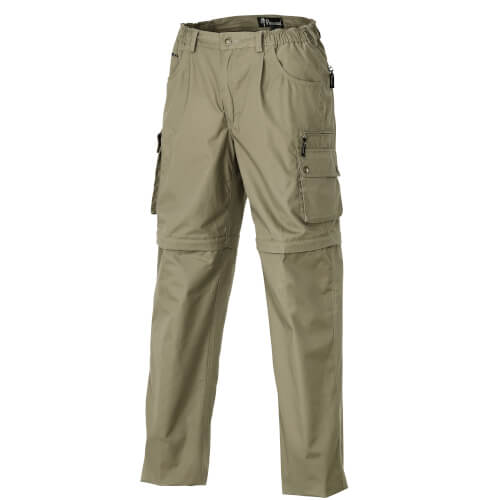 Pinewood Trousers Zip-Off Sahara Khaki