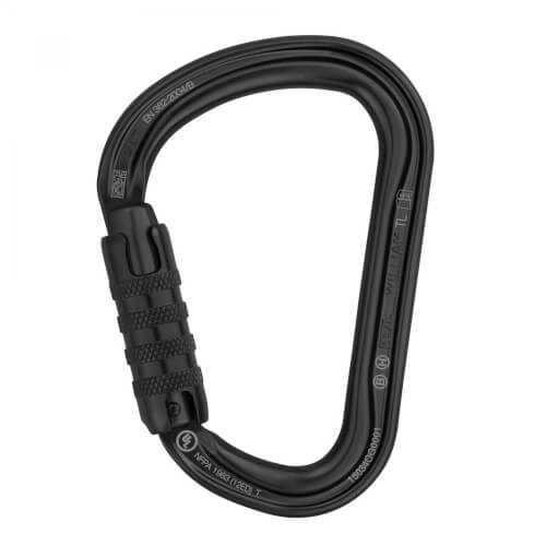 Petzl WILLIAM TRIACT-LOCK Professional schwarz
