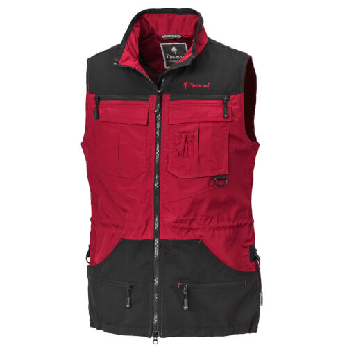 Pinewood Vest Dog-Sports - Ladies Red/Black
