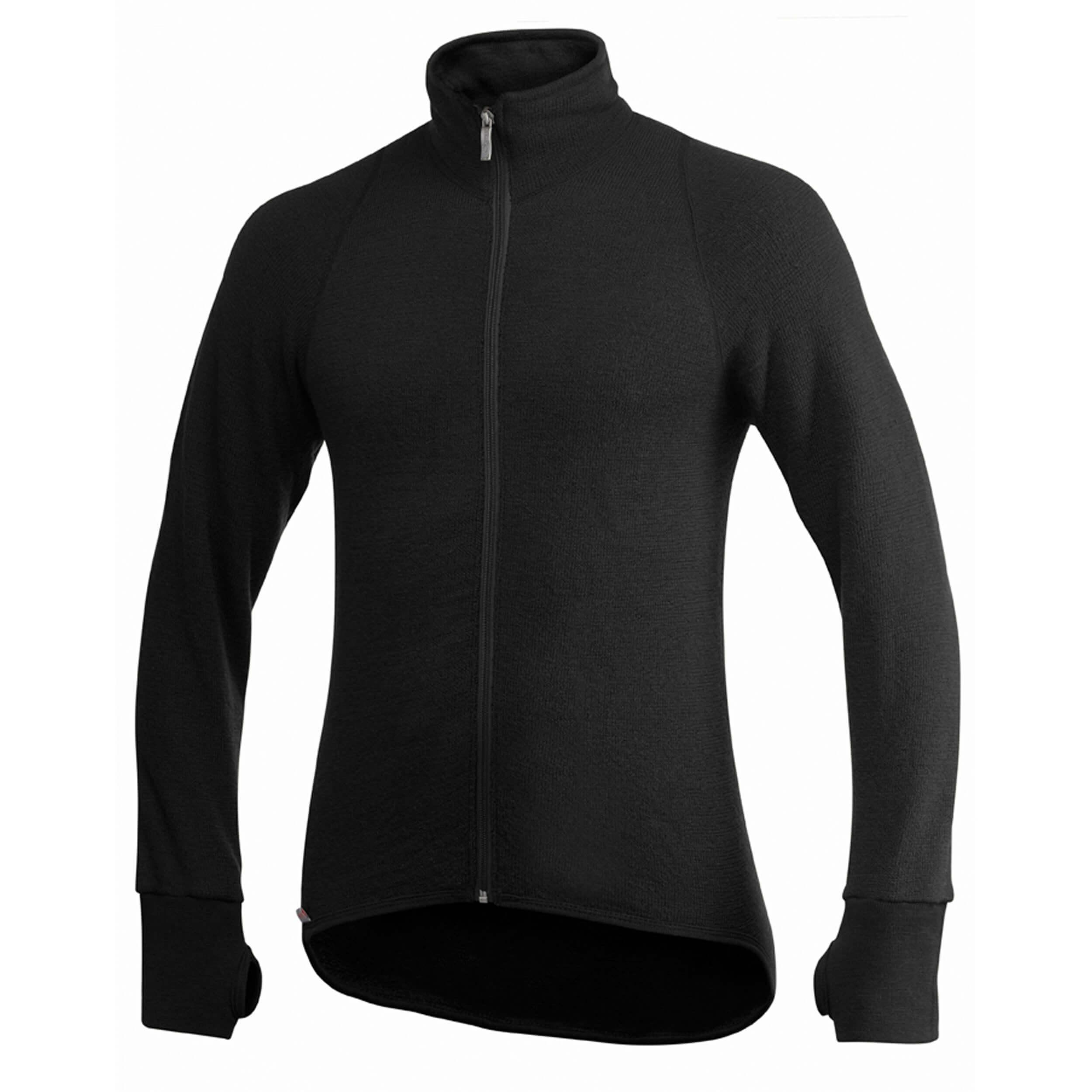 Woolpower Full ZIP Jacket 400 black