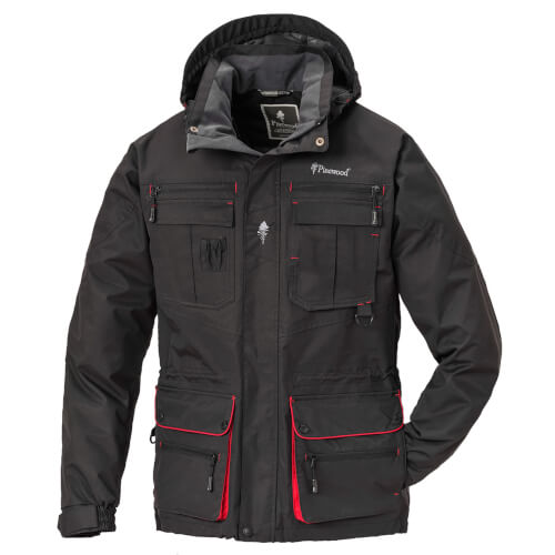 Pinewood Dog-Sports Jacke Schwarz