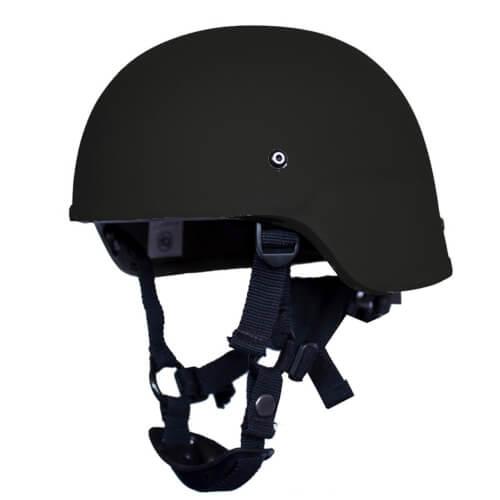 HCS ACH Helm mit Pads Schwarz