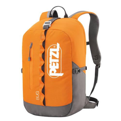 Petzl Bug Seilrucksack 18L orange