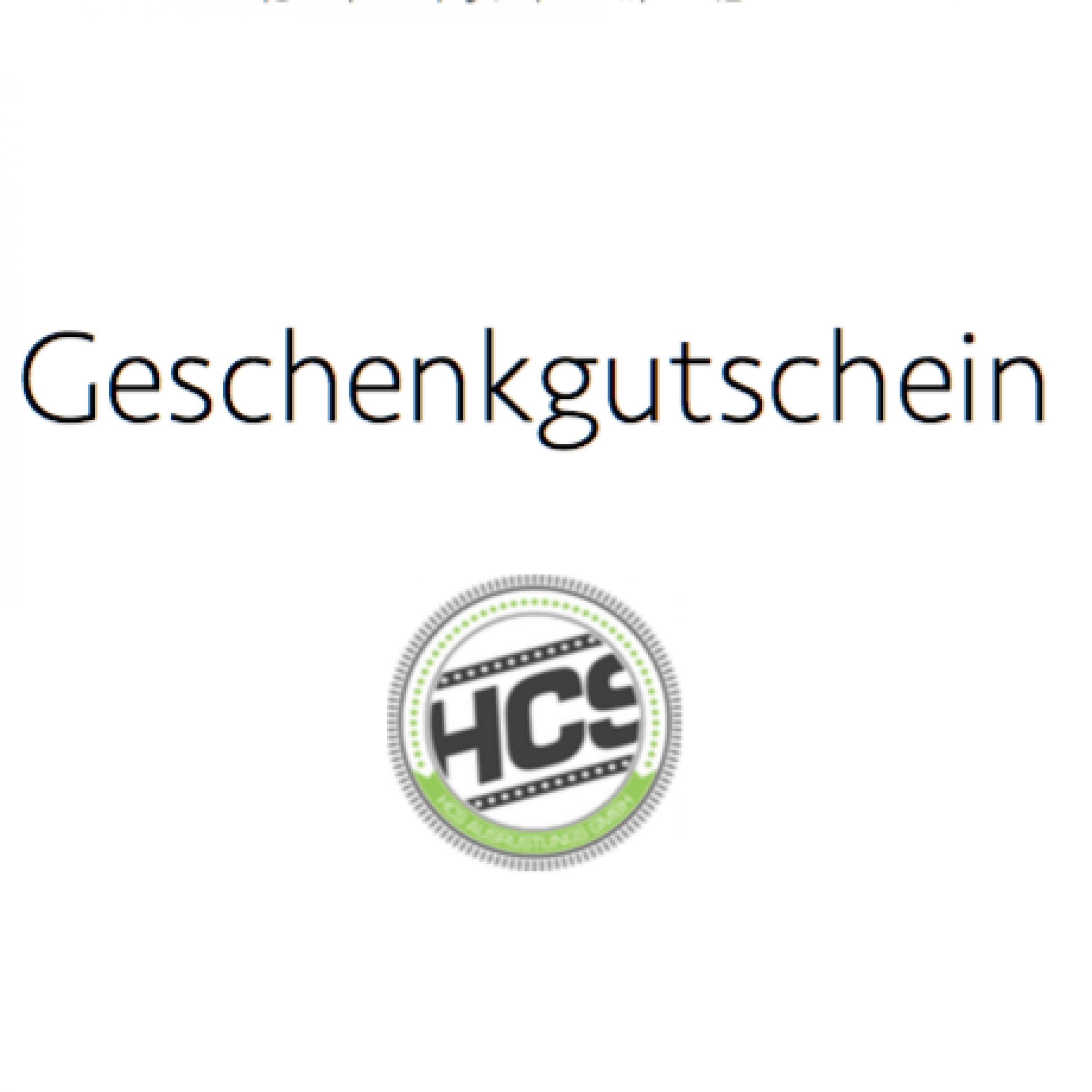 HCS Gutschein