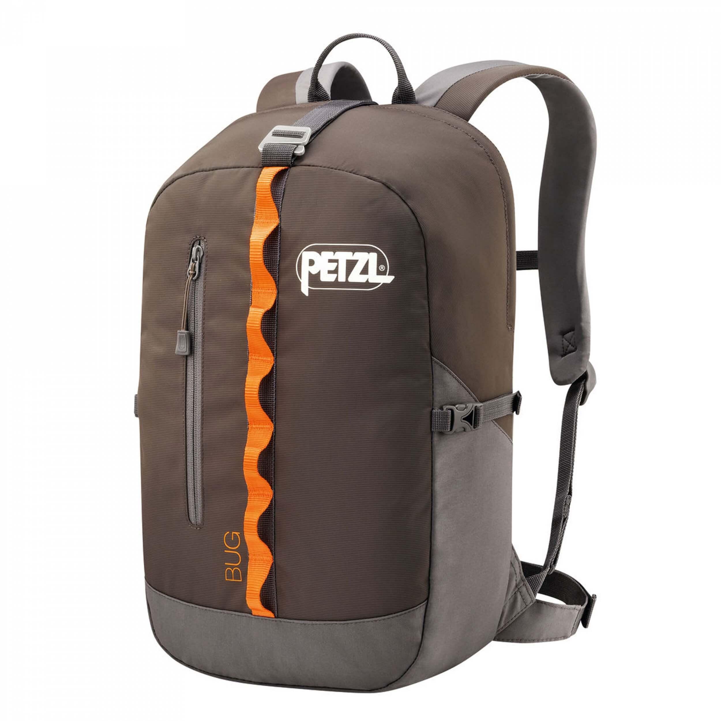Petzl Bug Seilrucksack 18L grau