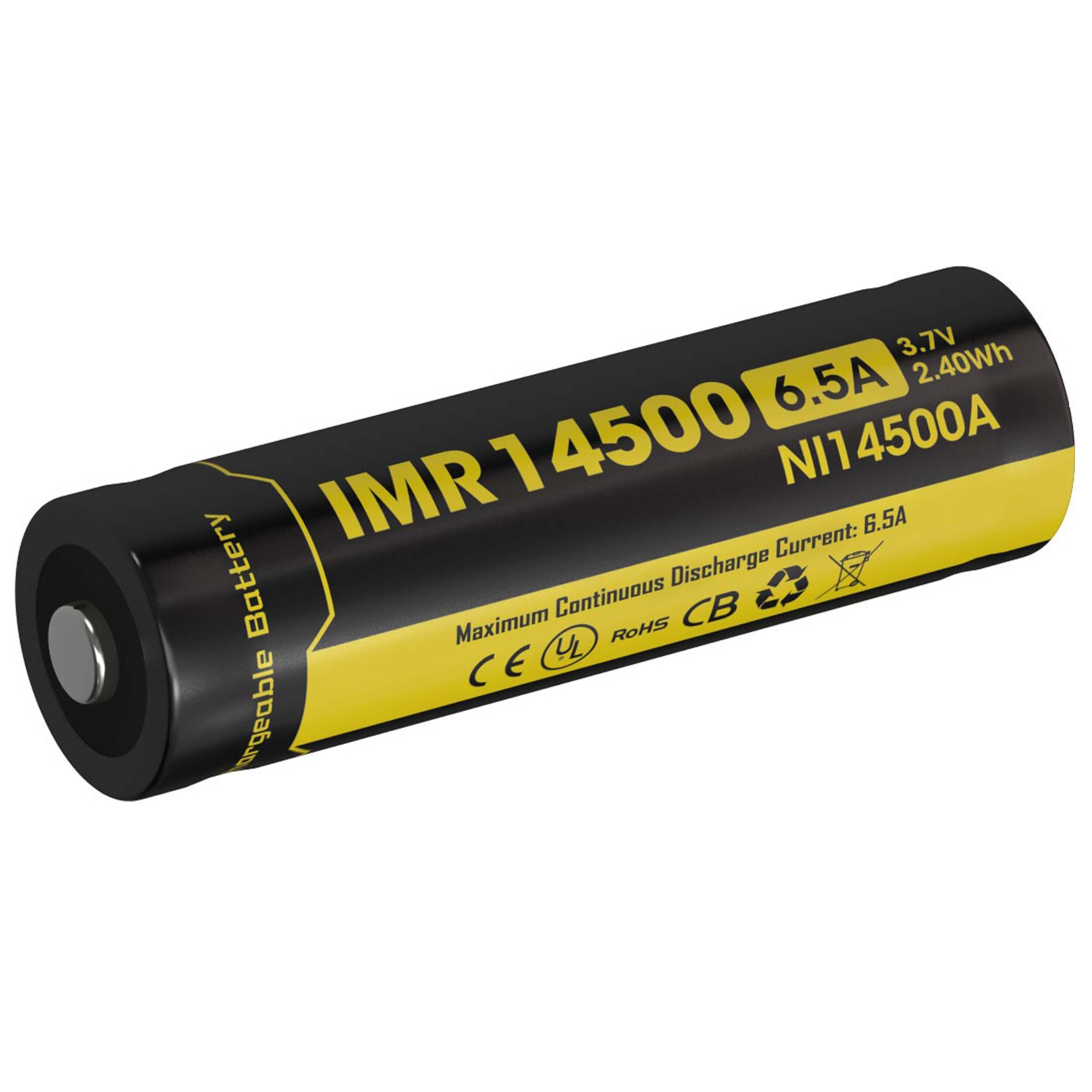 NiteCore 14500IMR Li-Ion Akku