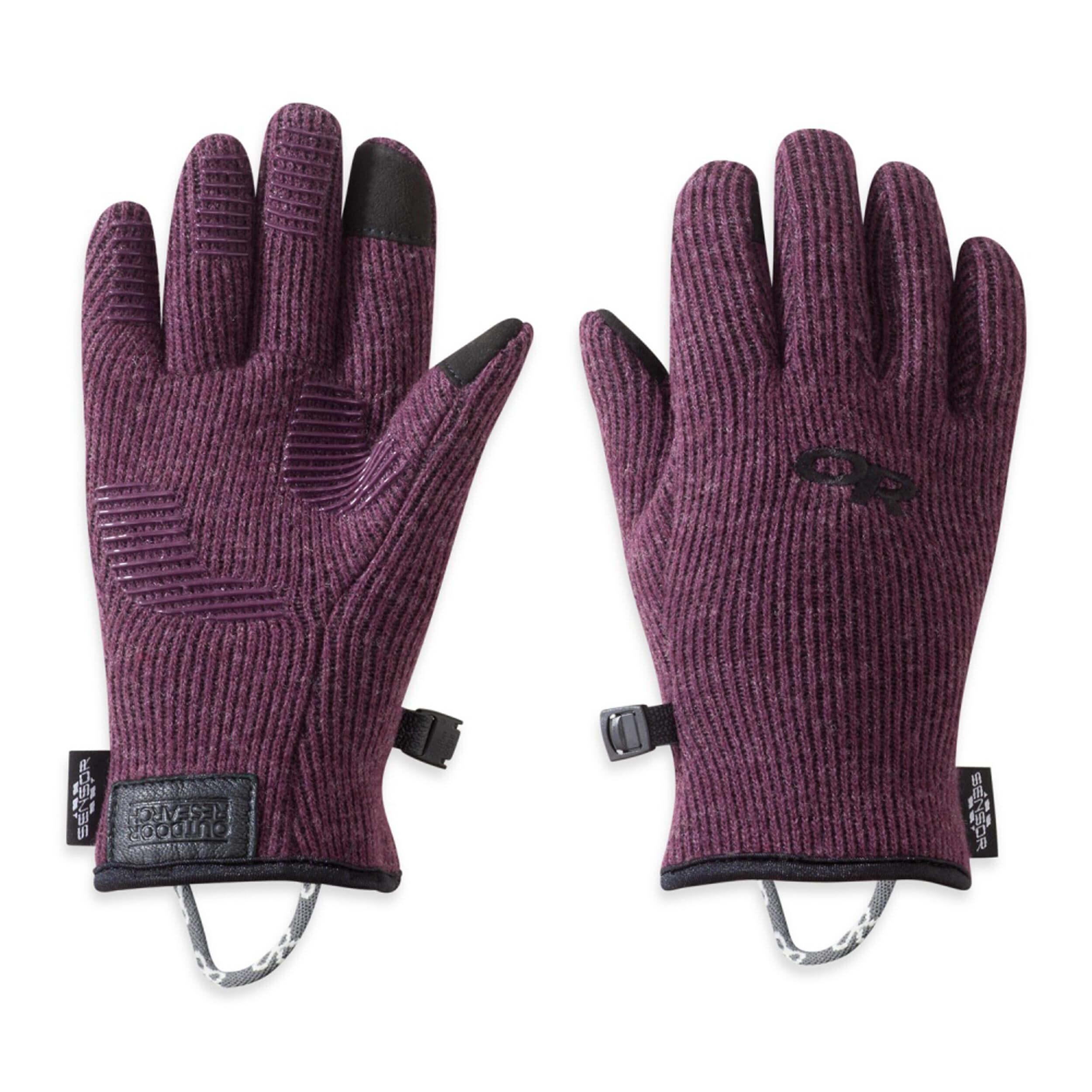 Outdoor Research Kids Flurry Sensor Gloves Pinot