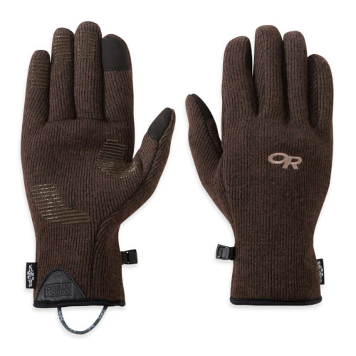 Outdoor Research Men's Flurry Sensor Gloves earth