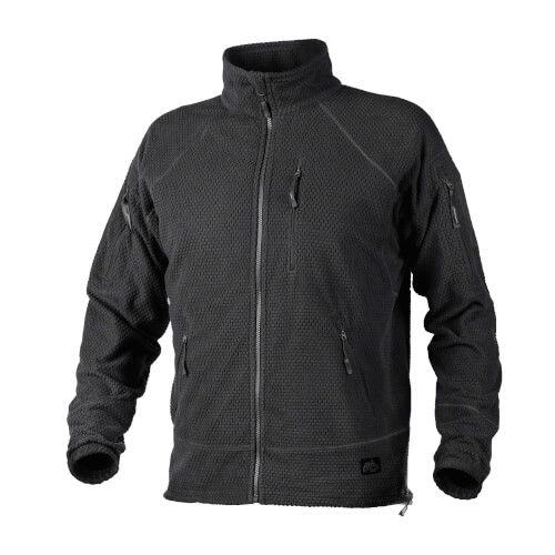 Helikon-Tex Alpha Tactical Jacket - Grid Fleece black