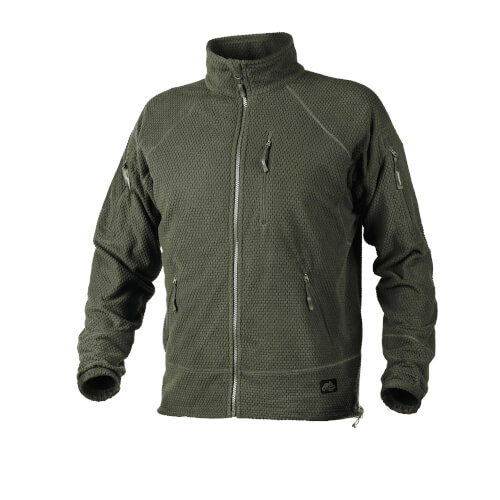 Helikon-Tex Alpha Tactical Jacket - Grid Fleece olive green