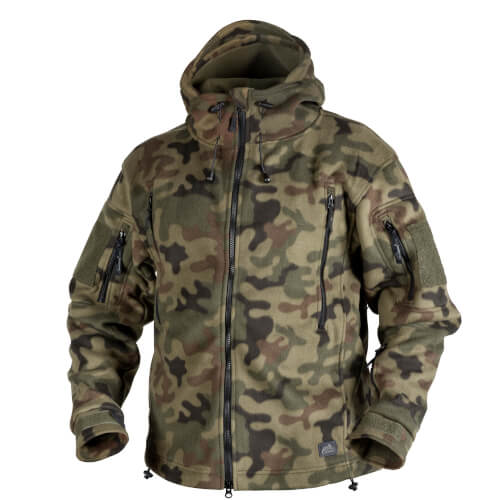 Helikon-Tex Patriot Jacke - Double Fleece pl woodland