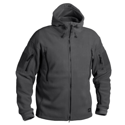 Helikon-Tex Patriot Jacke - Double Fleece shadow grey