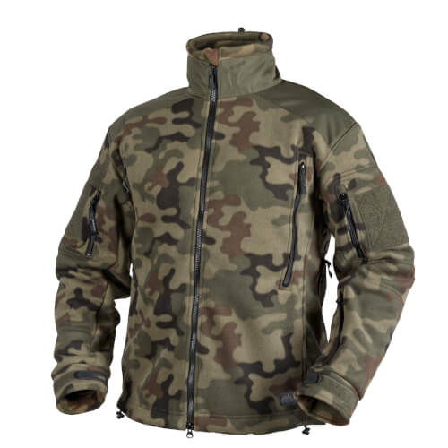 Helikon-Tex Liberty Heavy Fleece Jacke pl woodland
