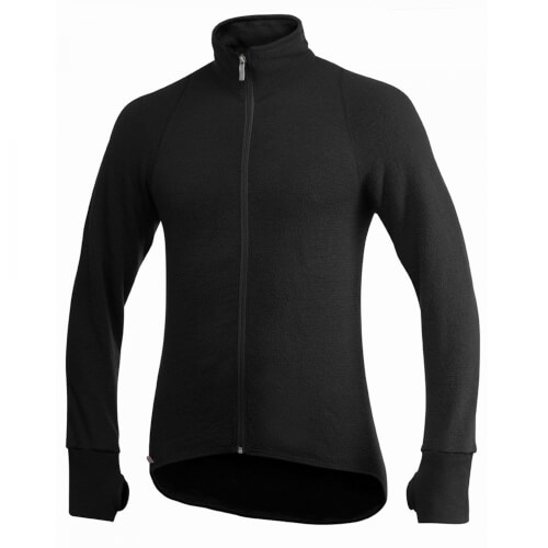 Woolpower Full ZIP Jacket 600g schwarz