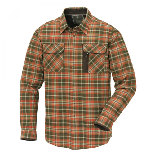 Pinewood Shirt Cornwall Terracotta/Green