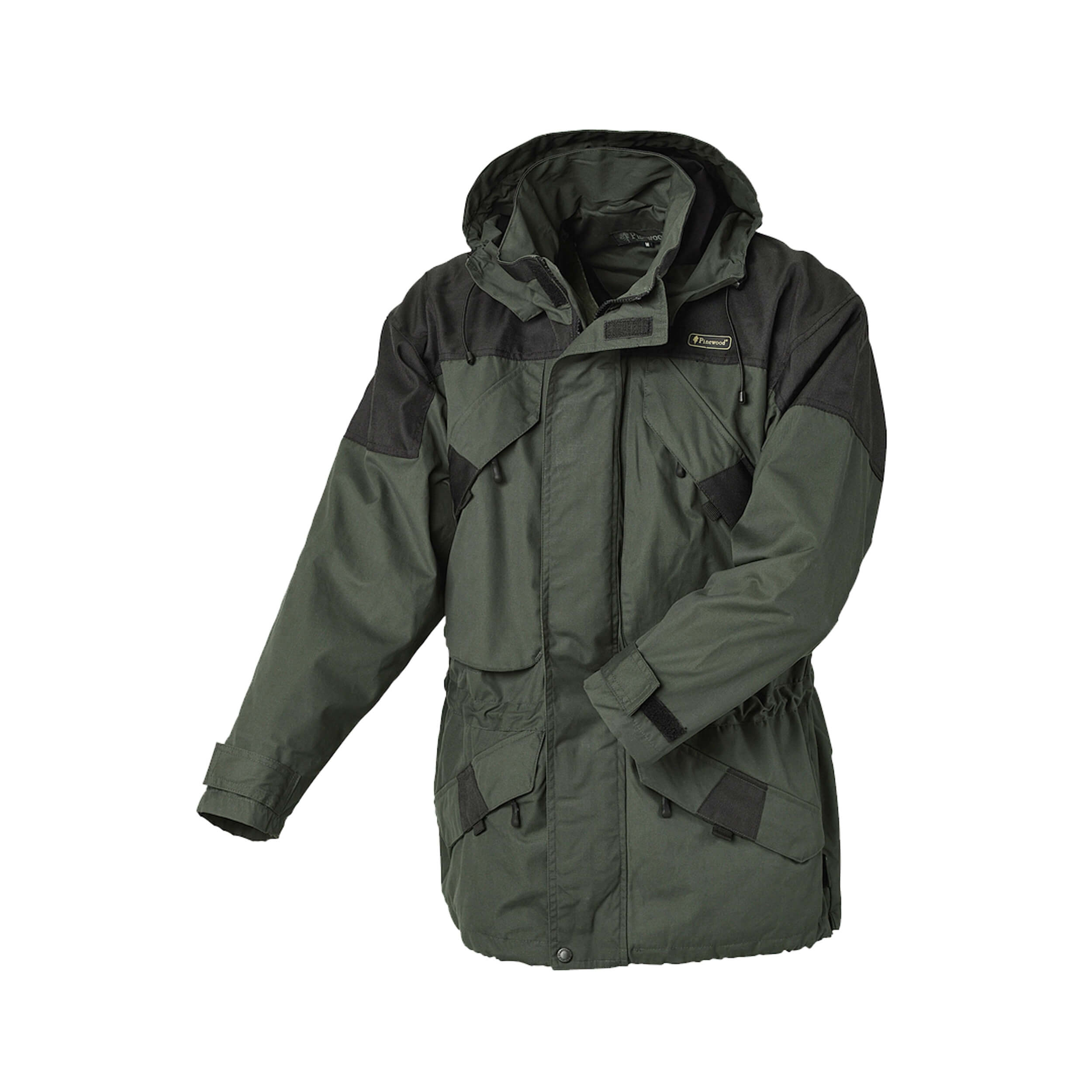 Pinewood Lappland Extreme Jacke Dunkelgrün schwarz