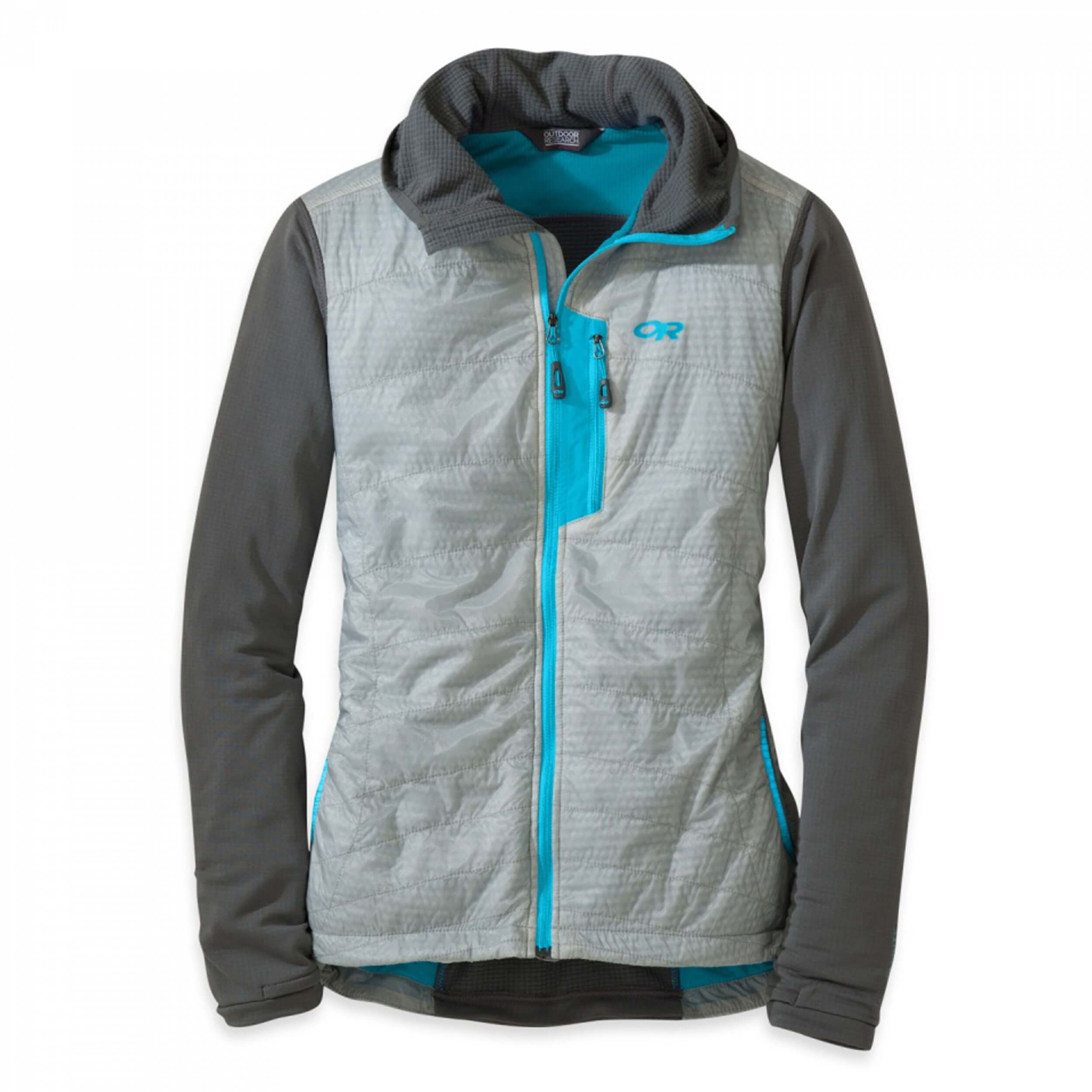 Outdoor Research Deviator Hoody Women Alloy Pewter