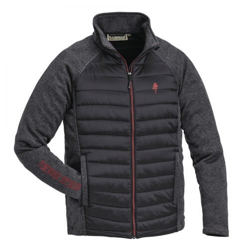 Pinewood Jacket Gabriel Padded Black/Terracotta