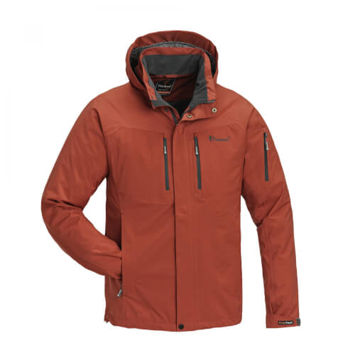 Pinewood Jacket Juptr Terracotta/Grey Größe S