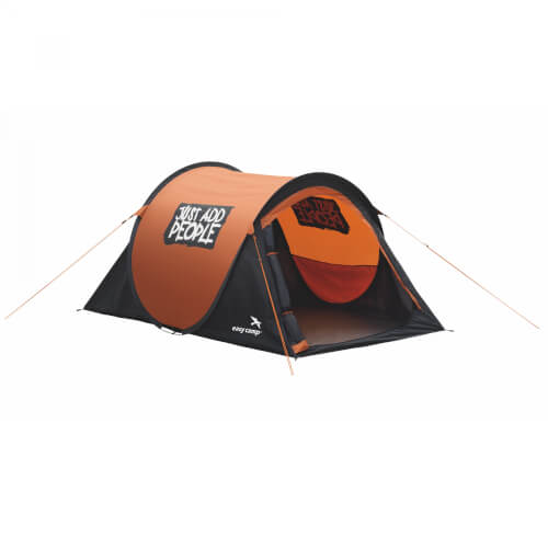 "Easy Camp Pop-Up-Zelt ""Funster"" 2 Pers. gold flame"