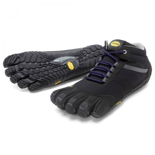 VIBRAM Fivefingers Trek Ascent Insulated Woman schwarz