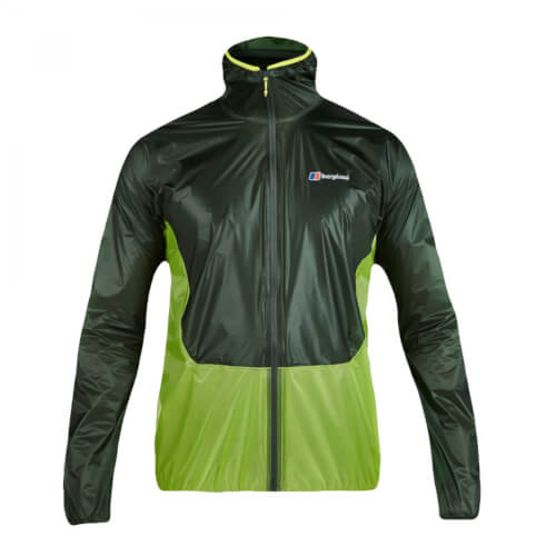 Berghaus Hyper Shell Jacket AM DarkGreen/LightGreen Gr. S