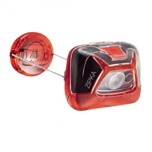 Petzl Zipka® Stirnlampe rot