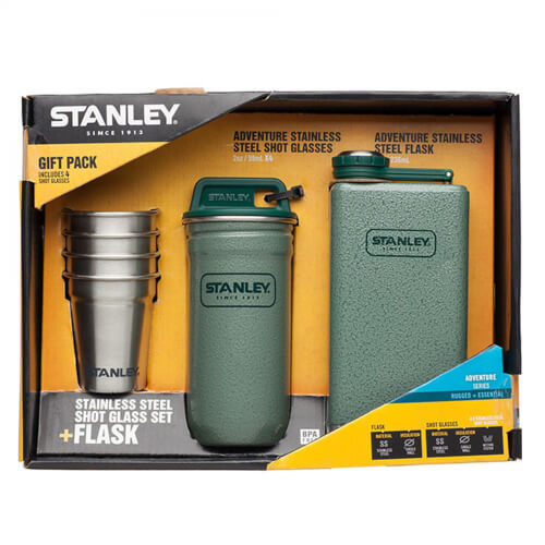Stanley Adventure Steel Shots and Bottles Set