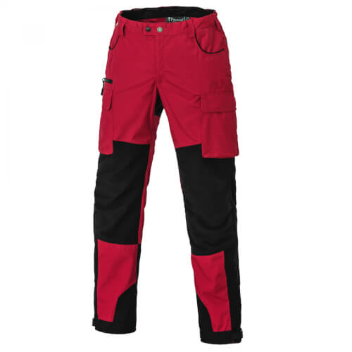 Pinewood Trousers Dog-Sports Red/Black