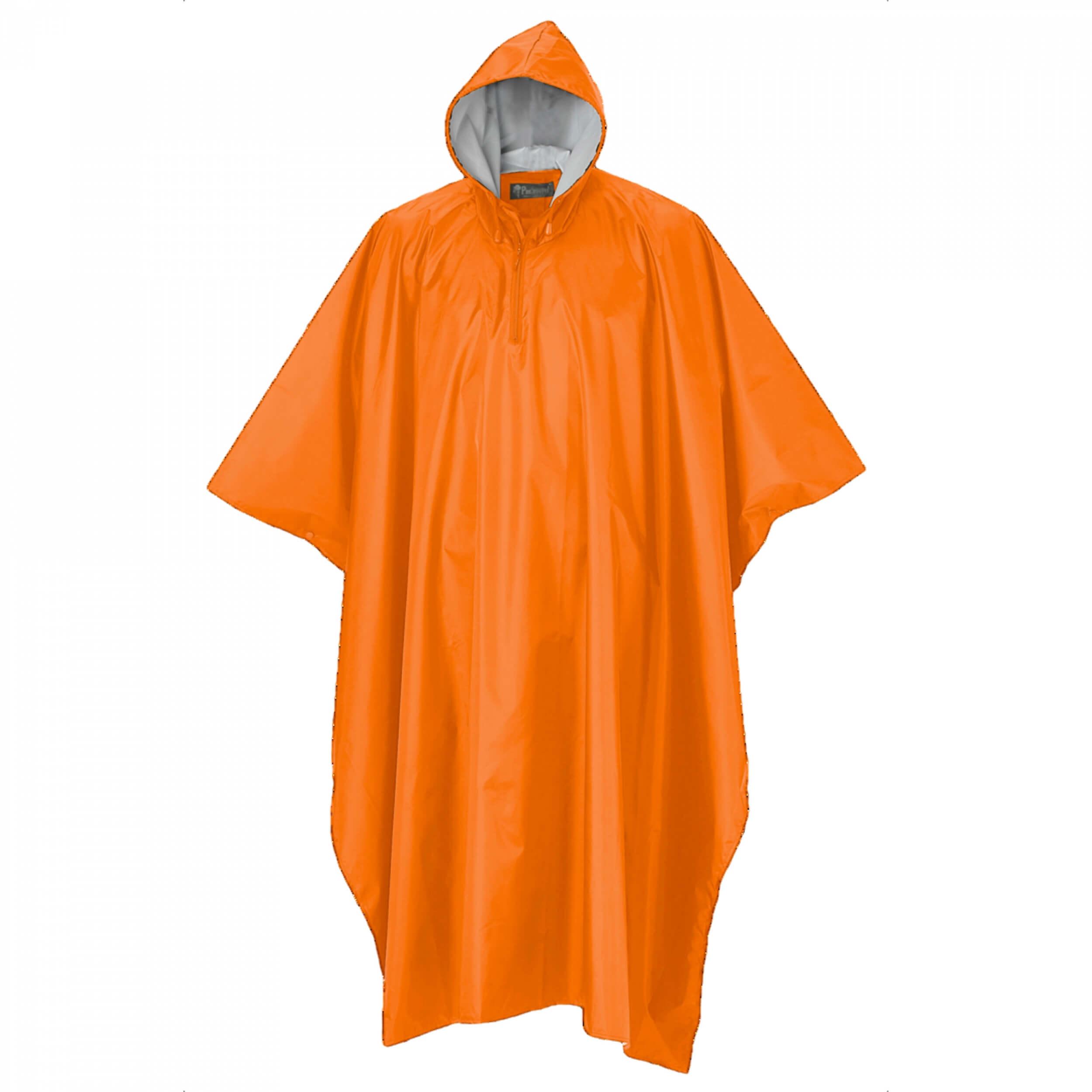 Pinewood Rainfall Poncho orange