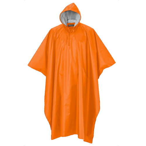 Pinewood Rainfall Poncho orange