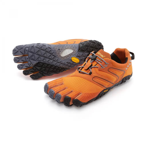 Vibram Fivefingers V-Trail orange/grau/schwarz